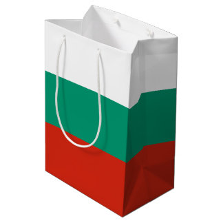 Bulgaria Flag Medium Gift Bag
