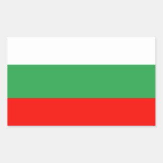 Bulgaria Flag Rectangular Sticker