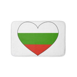 Bulgaria Flag Simple Bath Mat