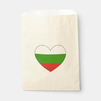Bulgaria Flag Simple Favour Bags