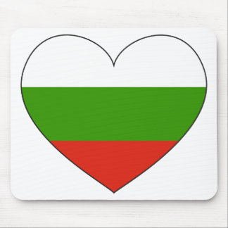 Bulgaria Flag Simple Mouse Pad
