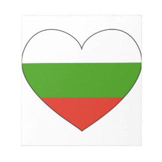 Bulgaria Flag Simple Notepad