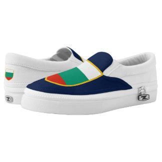 Bulgaria Flag Slip On Shoes