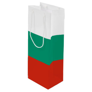 Bulgaria Flag Wine Gift Bag