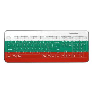 Bulgaria Flag Wireless Keyboard