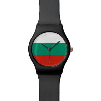 Bulgaria Flag Wristwatches