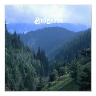 Bulgaria Landscape 13 Cm X 13 Cm Square Invitation Card