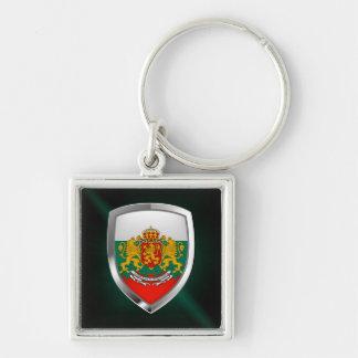 Bulgaria Metallic Emblem Key Ring