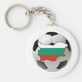 Bulgaria national team basic round button key ring