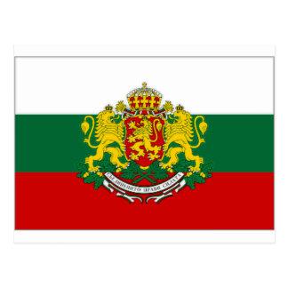 Bulgaria President Flag Postcard