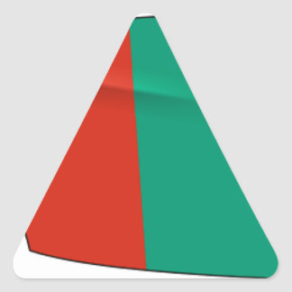 Bulgaria Rowing Triangle Sticker