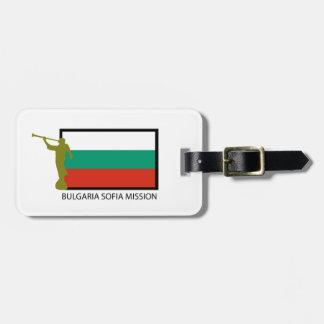 BULGARIA SOFIA MISSION LDS CTR LUGGAGE TAG