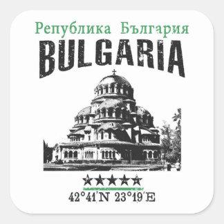 Bulgaria Square Sticker