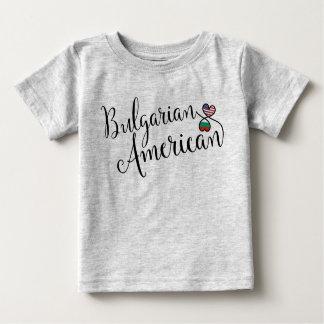 Bulgarian American Entwinted Hearts Tee Shirt