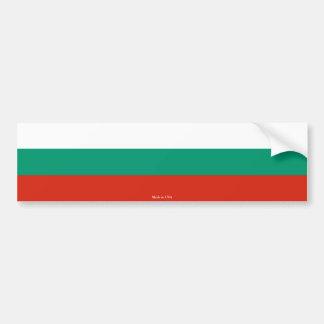 Bulgarian Flag Bumper Sticker