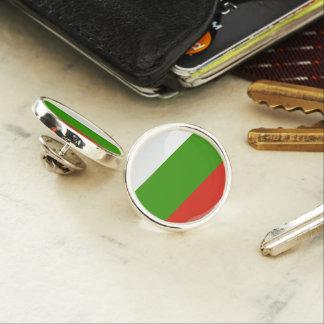 bulgarian flag lapel pin