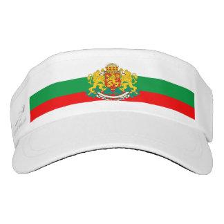 Bulgarian flag visor