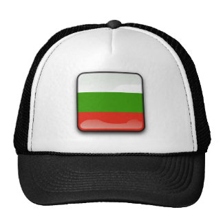 Bulgarian glossy flag cap
