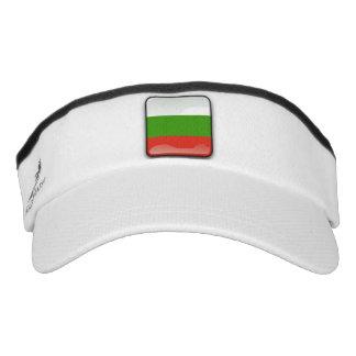 Bulgarian glossy flag visor