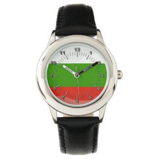 Bulgarian glossy flag watch