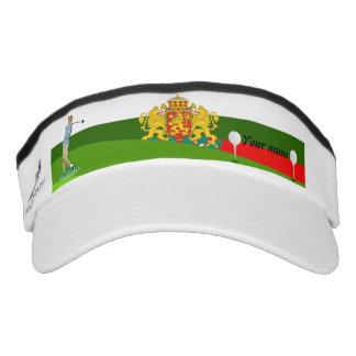 Bulgarian golfer visor