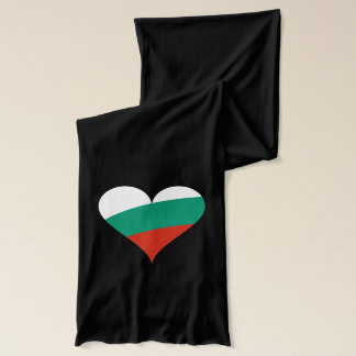 Bulgarian heart scarf