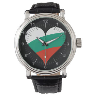 Bulgarian heart wrist watch