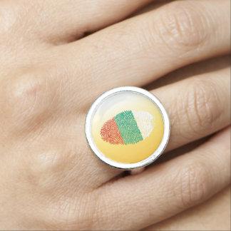 Bulgarian touch fingerprint flag