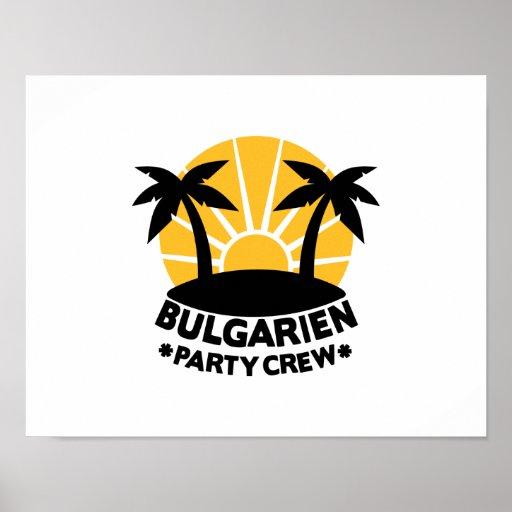 Bulgarien Party Crew Posters
