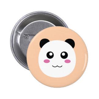 Bulging Cute cat-smiling 6 Cm Round Badge