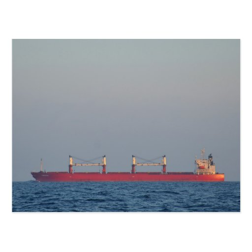 Bulk Carrier Cardinal Postcard