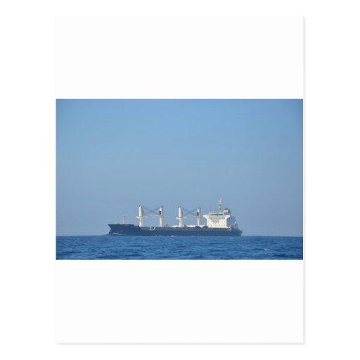Bulk Carrier EGS CREST Post Card