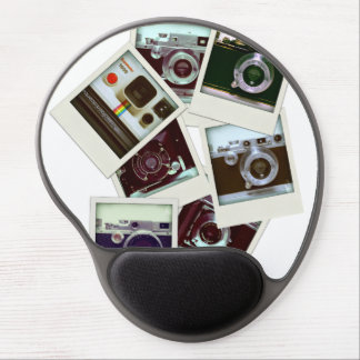 Bulk Images of Vintage Cameras Mousepad Gel Mouse Pad