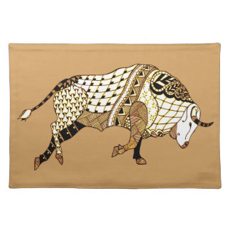 Bull 1 placemat