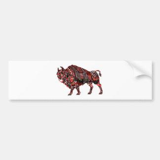 Bull 2 bumper sticker