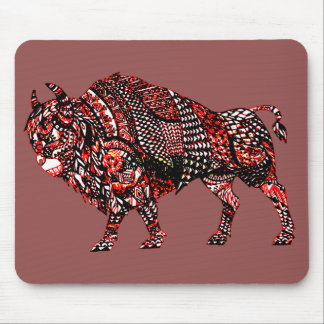 Bull 2 mouse pad