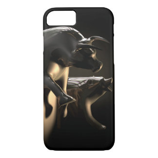 Bull And Bear Market Statues iPhone 8/7 Case