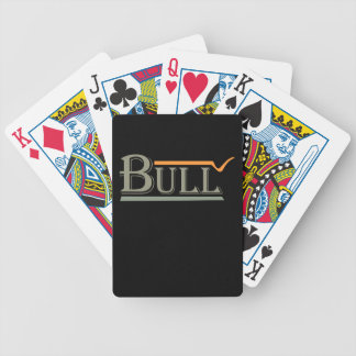 Bull Bicycle Playing Cards