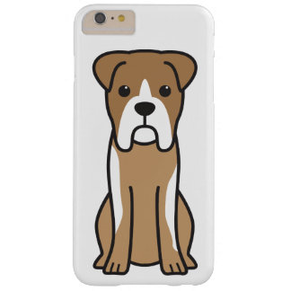 Bull Boxer Dog Cartoon Barely There iPhone 6 Plus Case