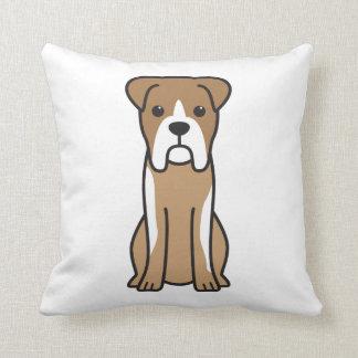 Bull Boxer Dog Cartoon Cushion