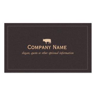 Bull Business Card