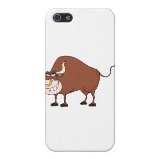 Bull Cartoon Character iPhone 5/5S Cover