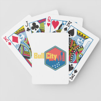 Bull City NC Bicycle Playing Cards