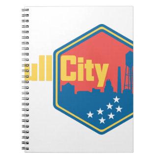 Bull City NC Spiral Notebook