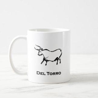 Bull del toro coffee mugs