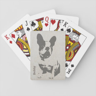 Bull Dog Custom Playing Cards