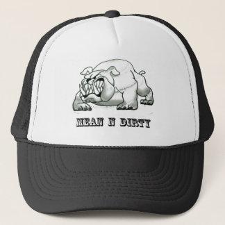Bull dog ( mean n dirty) copy trucker hat