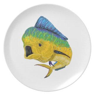 BULL DOLPHIN WAYS DINNER PLATES