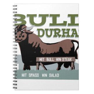 Bull Durham Notebook