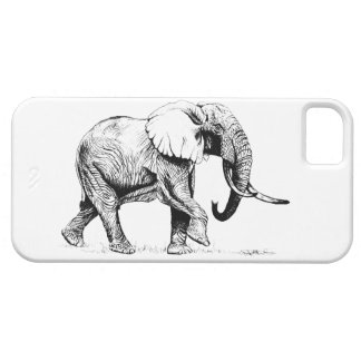 Bull Elephant I phone case